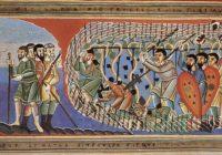 Золотой кодекс из Эхтернаха (1030-1050, Эхтернах / Нюрнберг, Германский национальный музей, Hs. 156142)