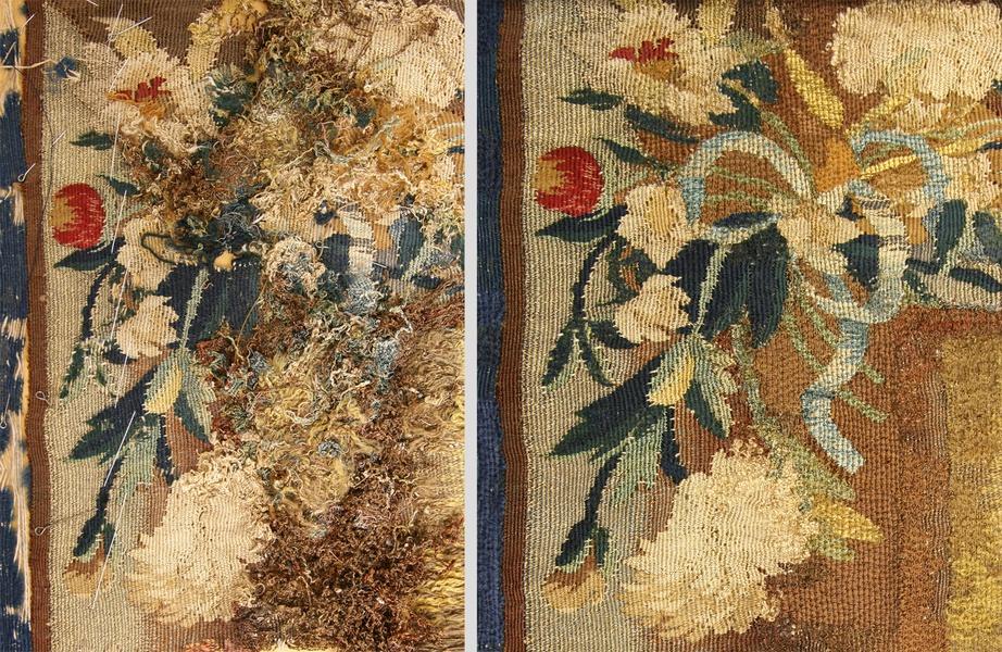 Выставка «Эрмитажная энциклопедия текстиля. Реставрация»