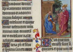 Роскошный (Великолепный) часослов герцога Беррийского (Très Riches Heures du Duc de Berry), 1411-1486, Париж-Бурж \ Музей Конде, Шантийи, Ms. 65
