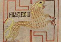 Евангелие из Эхтернаха (Евангелие Виллиброрда) — 690-715, Эхтернах, / BNF, Latin 9389