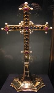 «Крест клятвы», предложенный брату Филиппу , из сокровищницы замка Хофбург