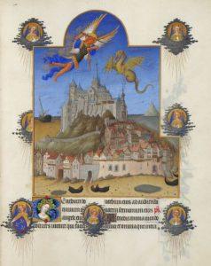 Битва архангела Михаила с драконом, Роскошный часослов, Лимбурги