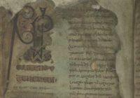 Книга Муллинга (к. VIII в., Ирландия \ Тринити-Колледж, Дублин, MS 60 (A. I. 15))