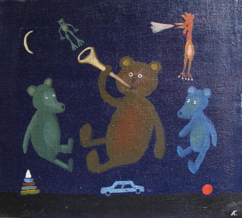Выставка «Гавриил Лубнин. ПУХ И ПРАХ. Живопись»