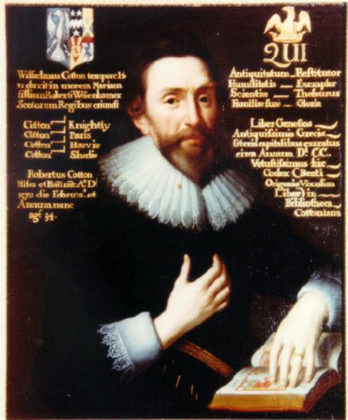 Роберт Коттон, коллекционер и библиофил