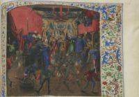 Хроники Жана Фруассара (рукопись Груутхузе) ок. 1470, Франция / БНФ, Français 2643 -2646
