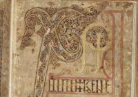 Евангелие из Личфилда (Евангелие св. Чада, Каэдда) 730, Личфилд, \ библиотека кафедрального собора Личфилда