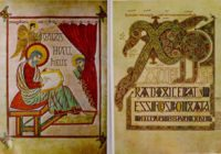 Кельтская и Англосаксонская книжная иллюстрация на Британских островах в 600-800 гг.