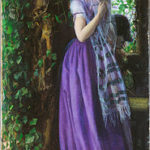 «Апрельская любовь», Артур Хьюз 1855-1856, Тейт, Лондон