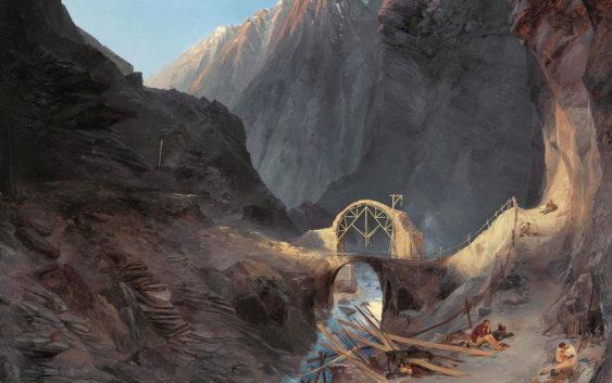 блехен чертов мост