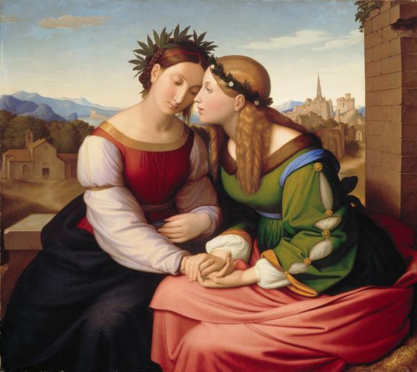 Союз Италии и Германии, 1811-1828