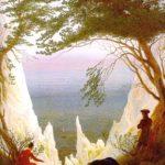 меловые скалы на острове рюген