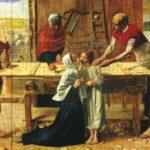 «Христос в родительском доме», Д. Э. Миллес 1850 год, галерея Тейт, Лондон