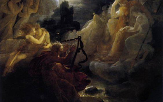 оссиан вызывает духов