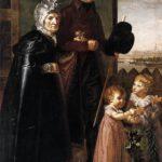 портрет родителей и племянников