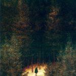 французский егерь в лесу