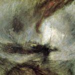 метель на море корабль подает сигнал
