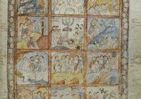 Евангелие Св. Августина Кентерберийского (Кембриджское Евангелие, VI век, Италия \ Кембридж, Кристи-колледж, MS. 286)