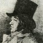 автопортрет капричос 1799