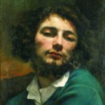 автопортрет с трубкой 1849