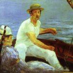 В лодке (1874)