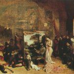 ателье художника 1855