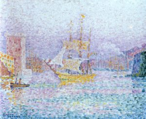 Гавань в Марселе, 1906, Эрмитаж