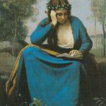 девушка в венке 1845