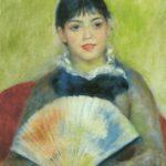 девушка с веером 1881
