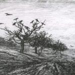 добиньи Дерево с воронами. 1867
