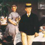 завтрак в мастерской 1868
