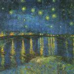 звездное небо над роной 1889