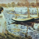 лодки в аржантёйе 1874