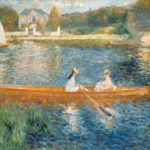 лодки на сене 1880