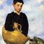 мальчик с собакой 1860-е