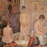 натурщицы в мастерской 1888
