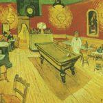 ночное кафе в арле 1888