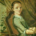 портрет сестры julliet 1844