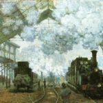 Вокзал сен-лазар 1877