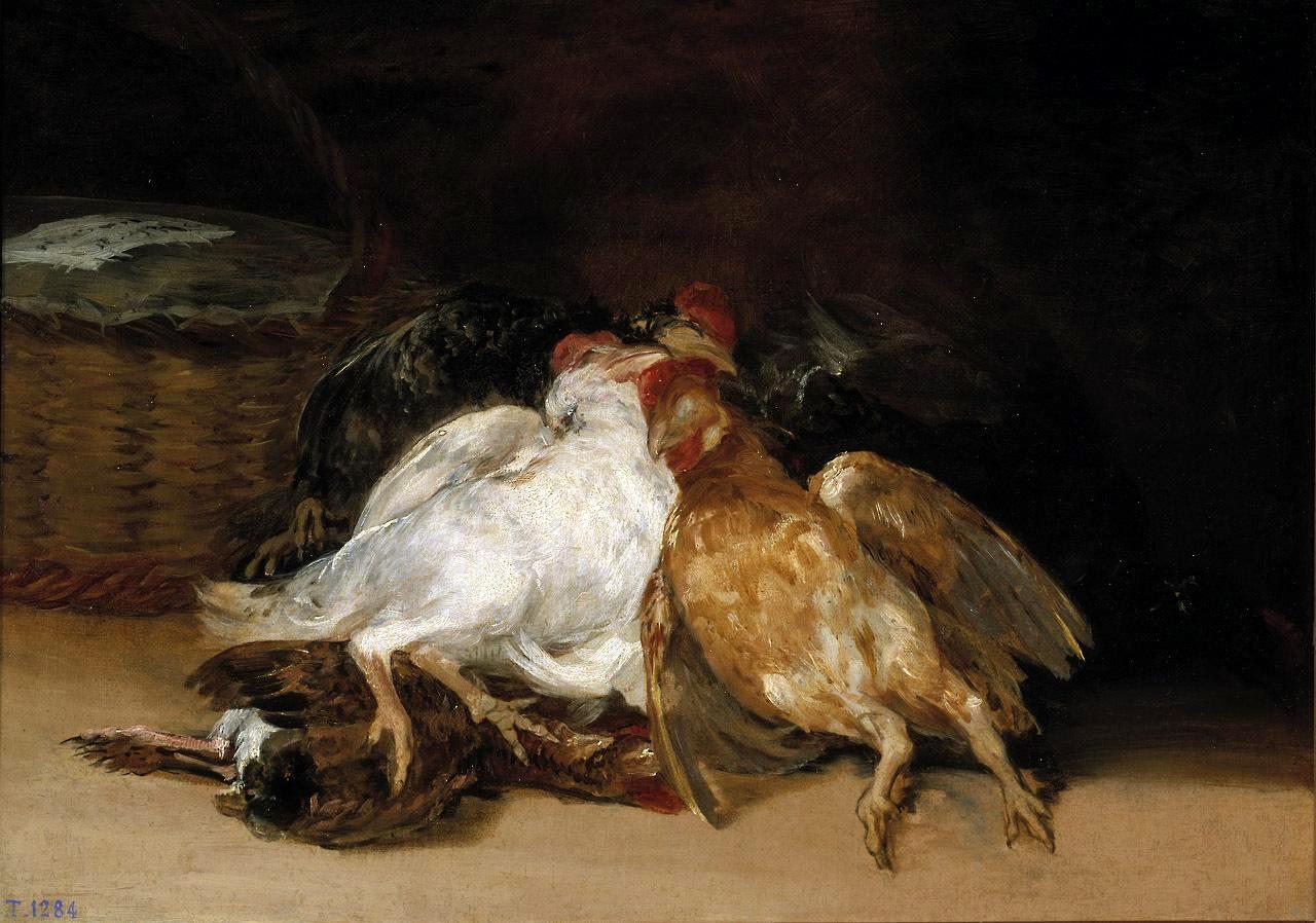 Мертвые птицы. Ок. 1800