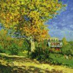 Пейзаж в Лувесьене 1873