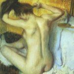 Причесывающаяся женщина 1886