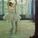 Танцовщица перед окном