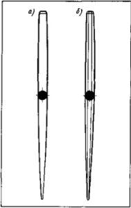Канфарник: а — круглый, 6 — восьмигранный