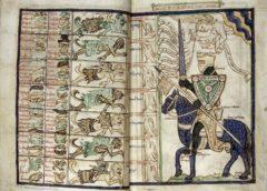 Бестиарий Британской библиотеки (Англия, XIII в., 1255-1265, \ Британская библиотека, Harley 3244)