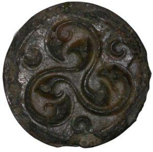 Змеиный трискелион, латенская культура, Британский музей