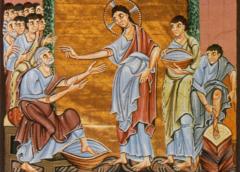 Евангелие императора Оттона III (ок. 1000 г., Райхенау \ Мюнхен, Баварская библиотека, Clm 4453)