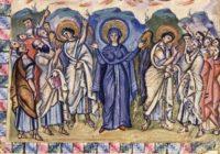 Евангелие Рабулы (ок. 586 г., монастырь св. Иоанна в Загбе \  Библиотека Лауренциана, Флоренция, cod. Plut. I, 560)