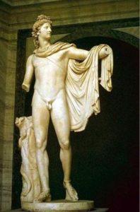 Леохар. Аполлон Бельведерский. Римская копия с греческого оригинала IV в. до н. э.