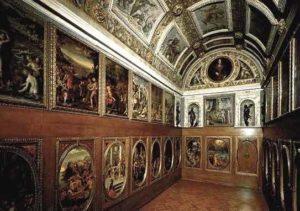 Палаццо Веккьо во Флоренции. Студиоло Франческо I Медичи